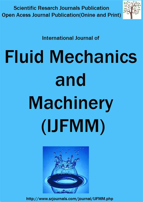 research papers on fluid mechanics international journal of fluid mechanics and machinery
