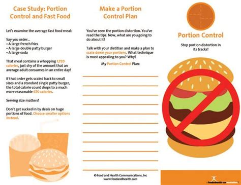 weight management brochure weight management brochure portion 25 brochures