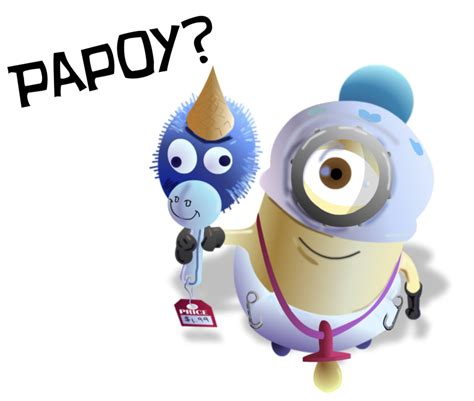Papoy Minion A papoy by philliecheesie on deviantart