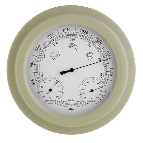 rain  shine  trusty garden barometer