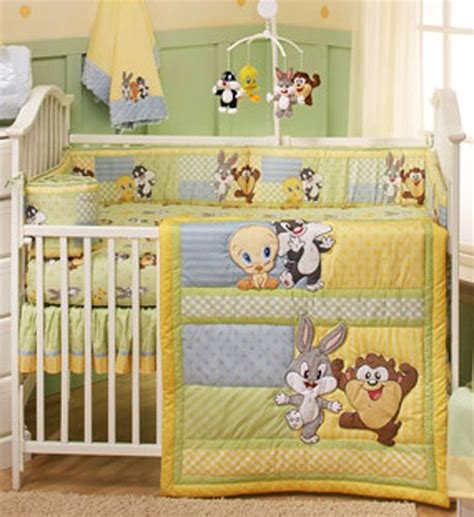 Baby Looney Tunes Crib Bedding Set Baby Looney Tunes 4 Piece Crib Bedding Set