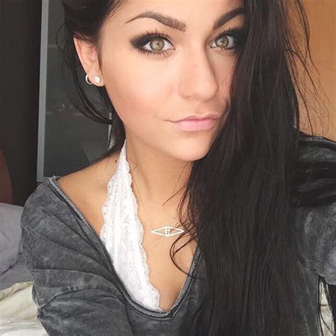 russet colored hair youtuber andrea russett glitter magazine