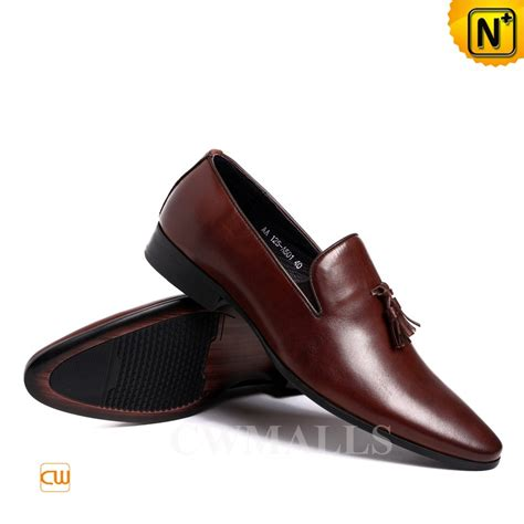 mens dress shoes loafers cwmalls 174 tassel leather dress loafers cw716216