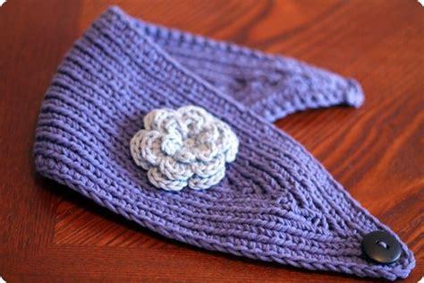ear warmer knitting pattern knitted ear warmer knitting