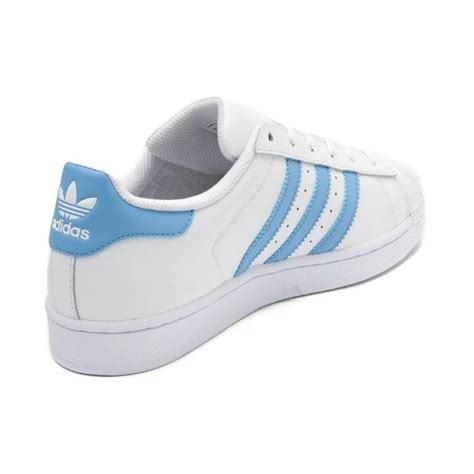 s brands shoes new adidas superstar shoe white baby light blue womens classics originals
