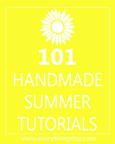 diy summer projects 101 handmade summer tutorials everythingetsy