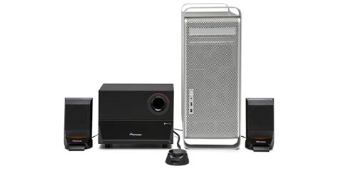 Speaker Komputer Pioneer s mm751ru 2 1 channel computer speaker system pioneer