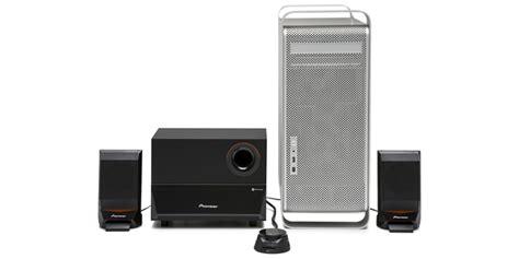 Speaker Komputer Pioneer s mm751ru 2 1 channel computer speaker system pioneer electronics usa