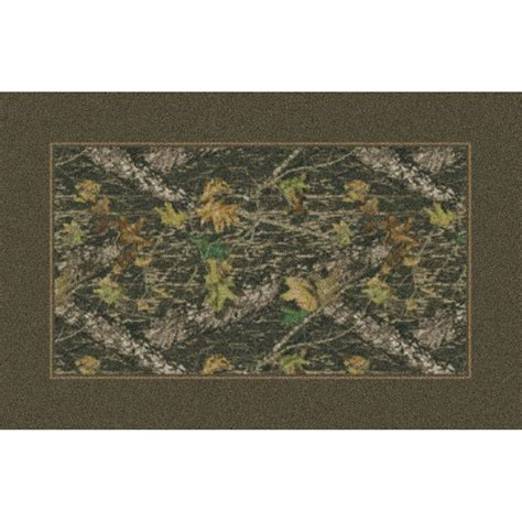 Camo Area Rug Marshall 4x6 Mossy Oak 174 New Up 174 All Camo Area Rug 131676 Rugs At Sportsman S Guide