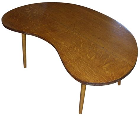 Kidney Coffee Table Tables A Kidney Shaped Coffee Table