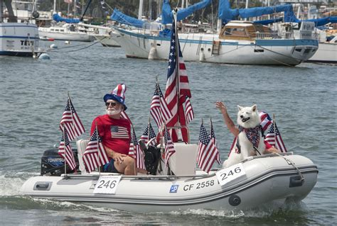 old glory boat parade newport beach local news fourth of july in newport harbor