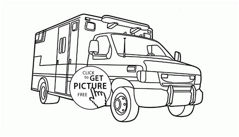 rescue truck coloring page top 93 vehicle coloring pages free coloring page