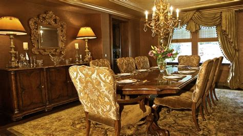 gold dining room gold dining rooms