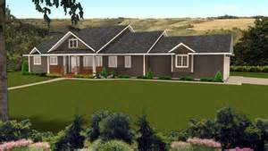 ranch style bungalow bungalow with angled garage plan 2010523 by e designs