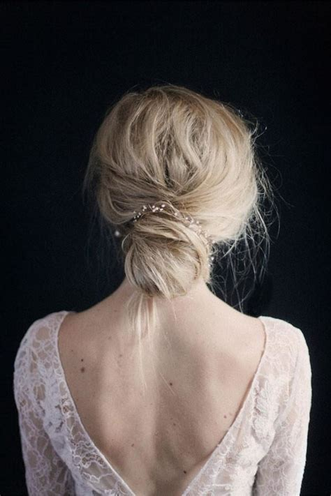 modern black hair updo simple and modern bridal accessories mywedding