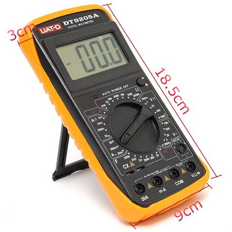 Multimeter Digital Dt9205a dt9205a digital multimeter voltmeter ohmmeter ac dc