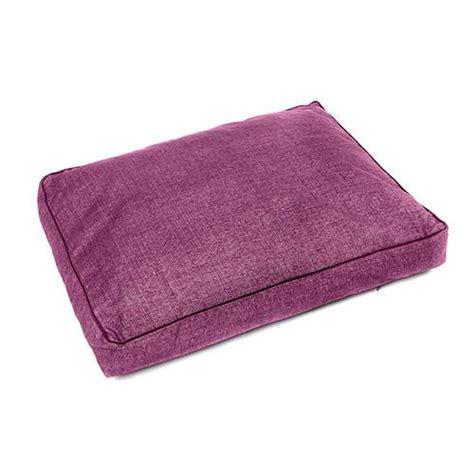 colchon perro colch 243 n para perros tk pet iris desenfundable color morado