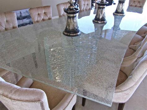 shattered glass table best shattered glass coffee table professionally designed
