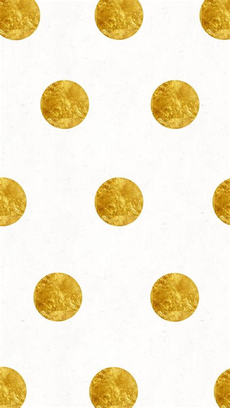 wallpaper with gold spots white gold large dots spots iphone wallpaper phone