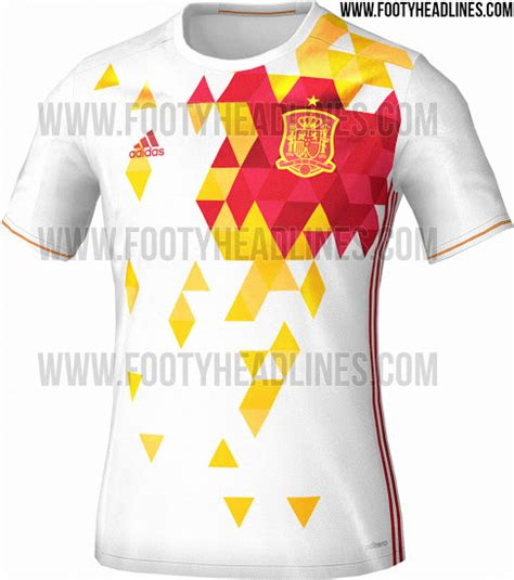 T Shirt Spain Euro2016 spain s away kit for 2016 has leaked and it s one of