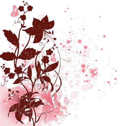 8 Floral And Lovely Projects by Vector Floral Clipart Best