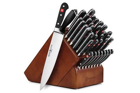 wusthof knife set wusthof classic knife block set 36 cutleryandmore