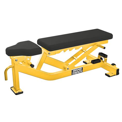 hammer strength bench hammer strength multi adjustable bench life fitness