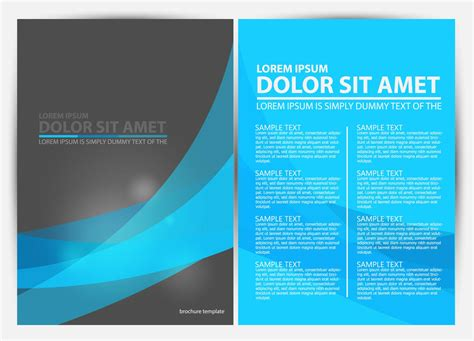 brochure photoshop templates 15 free a4 brochure design psds