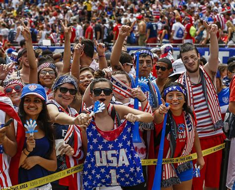 what to get a soccer fan usa fans flock to chicago washington dc and dallas as