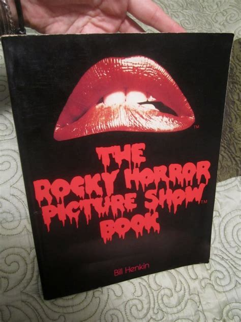 the rocky horror picture show book the rocky horror picture show book by bill henkin aug 1