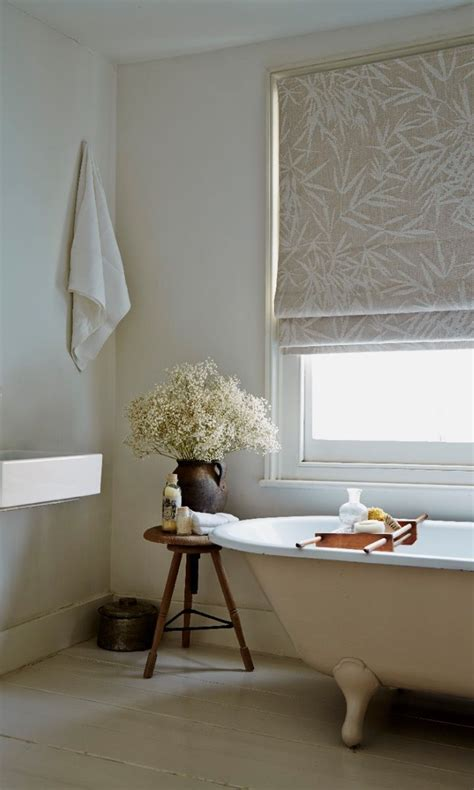 bathroom roman blinds made to measure bring a spa like atmosphere into a bathroom buy using