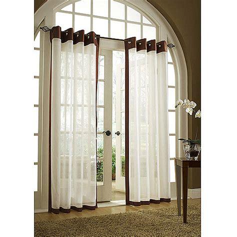 maison curtains belle maison soho grommet window panel walmart com