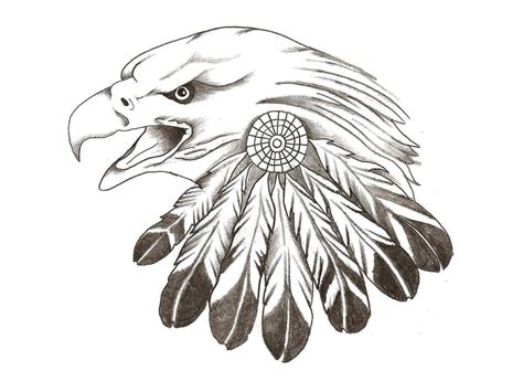 free tattoo drawings designs tatto eagle feather
