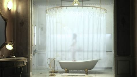 bathtub curtain round shower rod signature hardware for any shower