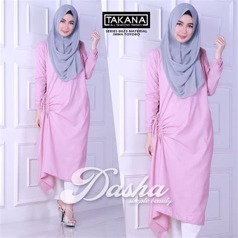 Puasat Grosir Baju Balqis Tunik Sofie baju muslim terbaru gamis modern style baju gamis dasha tunik by balimo pusat grosir baju muslim