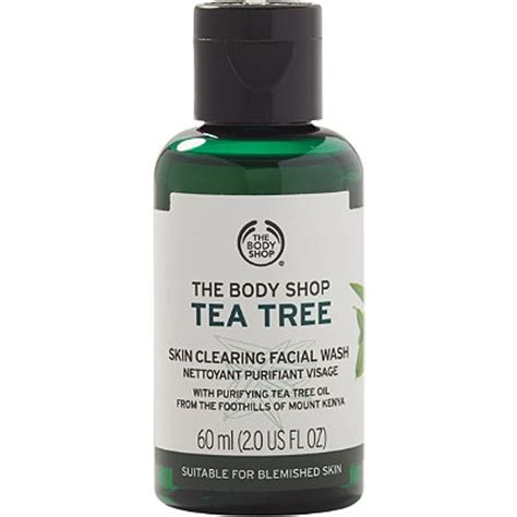 The Shop Wash the shop only travel size tea tree skin