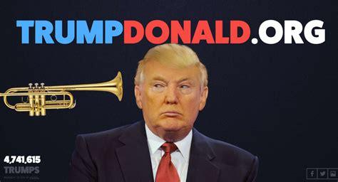 donald trump website website lets you be a bigger blowhard than donald trump