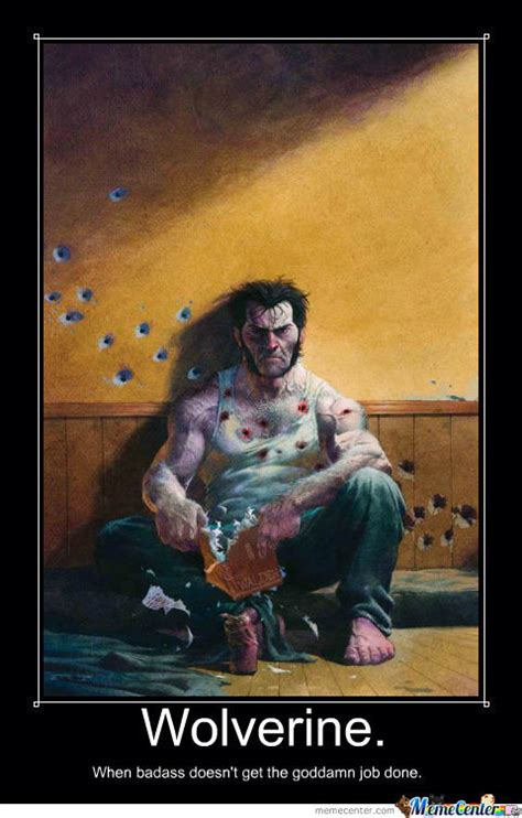 Wolverine Picture Meme - wolverine by jamie lockwood 33 meme center