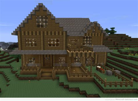 mine craft houses minecraft house 1234 215 905 130881 hd wallpaper res 1234x905 desktopas com