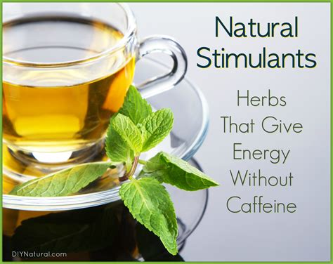 Herbal Stimulant stimulants herbs that give energy without caffeine