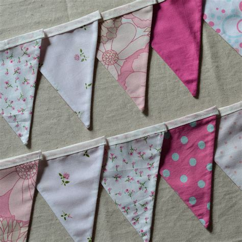Handmade Bunting - handmade bunting by the imagination of ladysnail