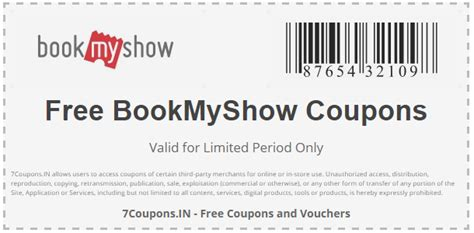 bookmyshow offers hdfc bookmyshow coupons and offers for april 2018 7coupons in