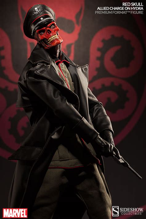 format video red red skull sideshow collectibles