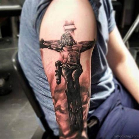 jesus tattoo on arm 72 great looking jesus tattoos for arm