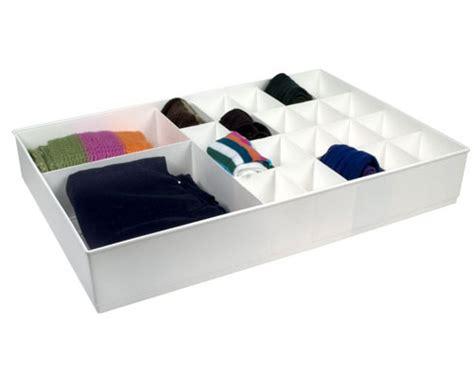 Divided Drawer Organizer large cubicles divided drawer organizer white in closet drawer organizers