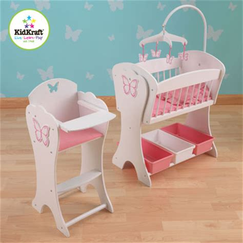 Baby Alive High Chair Set by Kidkraft Canada Kidkraft Dollhouses In Canada