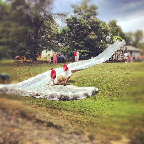 how to make a water slide in your backyard 27 best images about water fun on pinterest water