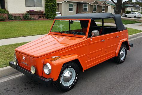 1973 volkswagen thing convertible 198523