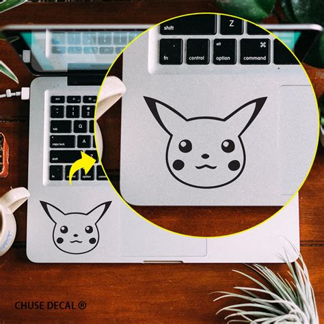 Stiker Laptop Pikachu Pb 01 buy wholesale pikachu laptop decal from china