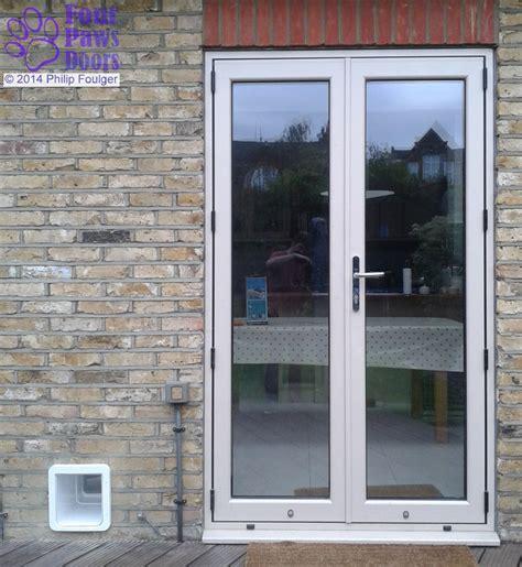 through wall door diy fitting of cat flaps and doors